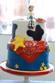 Amazing Pixar Cakes from Brave to Toy Story to Up!
