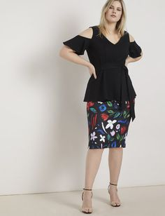 View our Neoprene Pencil Skirt and shop our selection of designer women's plus size Skirts, clothing and fashionable accessories. Midi Skirt Outfit Casual, Pencil Skirt Casual, Pencil Skirt Outfits, Denim Pencil Skirt, High Waisted Pencil Skirt, Pencil Skirts, Denim Skirt, Pencil Dress, Plus Size Skirts