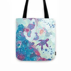 totebag tortue illustration peggy nille