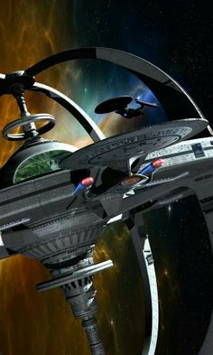 New DS9 and an unnamed Galaxy class ship