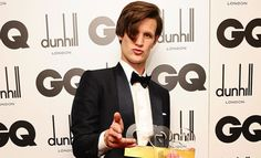 Can I brush the hair from your eyes? Matt Smith is gorgeous...