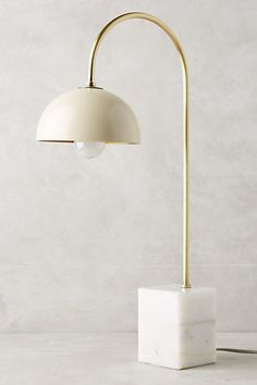 Winding Course Table Lamp #anthropologie