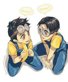 Evil Minions is listed (or ranked) 7 on the list 21 Non-Human Cartoon Characters… Evil Minions steht auf Rang 7 der Liste 21 Nichtmenschliche Comicfiguren, [. Anime Boys, Me Anime, Fanarts Anime, Anime Vs Cartoon, Cartoon Memes, Cartoon Art, Cartoons, Disney Characters As Humans, Iconic Characters