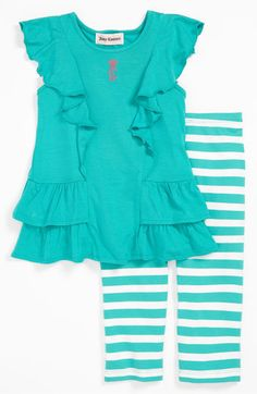 Juicy Couture Tunic & Leggings (Infant) available at Nordstrom