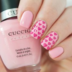 Cuccio Pinky Swear Hearts Nail Art