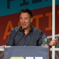 Bruce Springsteen - you've got to check your moves... SXSW