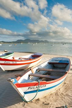 Ponta das Canas Beach. Florianopolis, Santa Catarina, Brazil.