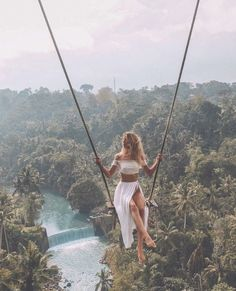 Welcome to Bali. Tag your friends or someone special take to picture or video this place. The most beautiful place at bali swing with view. Places To Travel, Travel Destinations, Places To Visit, Travel Stuff, Travel Pictures, Travel Photos, Destination Voyage, Photos Voyages, Bali Travel