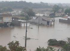 Dilúvio em cidade paraibana. Veja o vídeo