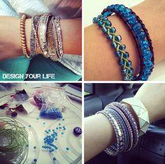 Moja galeria hand made biżuterii - więcej na: http://designyourlife.pl/misz-masz/diy-bizuteria-hand-made/