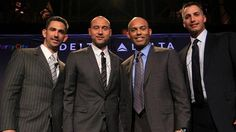 Great pic of my favourite Yankees! The Core Four, including Derek Jeter, gather in New York | MLB.com: News