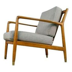 Mid-Century Modern Folke Ohlsson Lounge Chair - $900 Est. Retail - $800 on Chairish.com #midcenturymodern