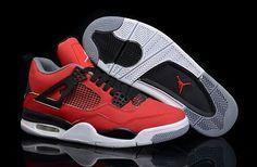 0fb23b2ac63 Buy Nike Air Jordan 4 Mens Red Black White Shoes New from Reliable Nike Air  Jordan 4 Mens Red Black White Shoes New suppliers.Find Quality Nike Air  Jordan 4 ...