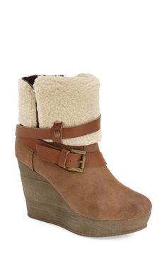 Sbicca 'Finale' Wedge Bootie (Women) available at #Nordstrom