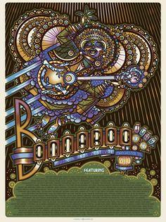 GigPosters.com - Dave Matthews Band - Kings Of Leon - Stevie Wonder - Jay-z - Tenacious D - Weezer - Flaming Lips, The - Dead Weather, The - Damian Marley - Nas - Phoenix - Norah Jones - Michael Franti
