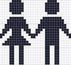 Ravelry: Boy And Girl Chart pattern by Kody May Kline