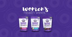 Manitoba Harvest is participating in the Women's Health Week Event!