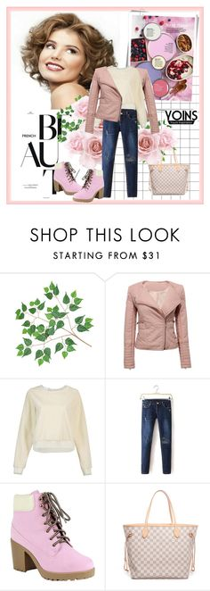 """""""YOINS 6"""" by fashionb-784 ❤ liked on Polyvore featuring Better Homes and Gardens, Reneeze, Louis Vuitton and yoins"""