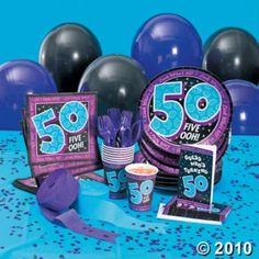 Have Any 50th Birthday Party Game Ideas