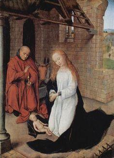 Nativity - Hans Memling-1470