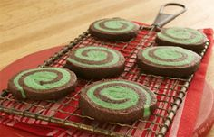 Chocolate-Mint Pinwheel Recipe   Sugar Cookies   Betty Crocker