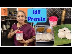 Idli Premix ! Soft Spongy Idlis ! No Eno! No Soda ! Just add water !! Healthy & Tasty !! - YouTube Fried Fish Recipes, Veg Recipes, Dosa Chutney, Instant Recipes, Indian Street Food, Recipe Mix, Working People, Soda, Gel Pens