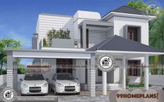 House Design In India With Price Low Cost House Designs And Floor Plans In India See Description House Design With Basement Car Park Basement Renovation Modern House Price In India Pin On Bungalow Haus Design, Small Bungalow, Bungalow Homes, Bungalow House Plans, House Plans Uk, Indian House Plans, Modern House Plans, House Plans With Pictures, House Design Pictures
