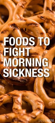 Here are some great ways to fight off that morning sickness that some expecting mothers have.