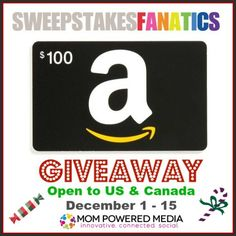 $100 Amazon Gift Card Giveaway | Mom To Bed By 8
