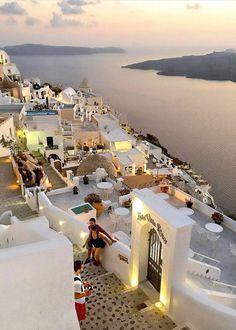 Santorini, Greece. Photography by @sert_mehmet