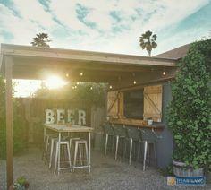 Backyard Bar Shed Ideas Build a Pub Shed Backyard Buildings # Backyard Bar, Backyard Sheds, Garden Sheds, Backyard Cabana, Garden Bar Shed, Diy Garden, Backyard Retreat, Pub Sheds, Shed Construction