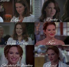 Greys Anatomy Episodes, Greys Anatomy Funny, Grays Anatomy Tv, Grey Anatomy Quotes, April Kepner, Netflix, Memory Words, Grey's Anatomy Tv Show, You Are My Person