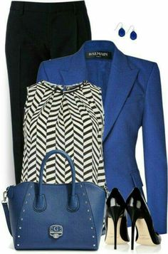 Blue Blazer Outfit Ideas Collection outfit daiscat blazer is a symbol of formal style we can Blue Blazer Outfit Ideas. Here is Blue Blazer Outfit Ideas Collection for you. Blue Blazer Outfit Ideas casual blazer outfit navy blue blazer white ts. Royal Blue Outfits, Royal Blue Blazers, Black Blazers, Business Outfits, Business Fashion, Business Attire, Business Casual, Business Women, Blazer Outfits