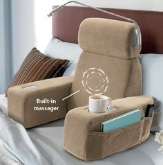 Nap Massaging Bed Rest is perfect for...welll, anyone!