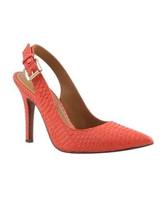Kay Unger Kay Unger Zahara Snakeskin Leather Pump - on #sale 74% off @ #Bluefly