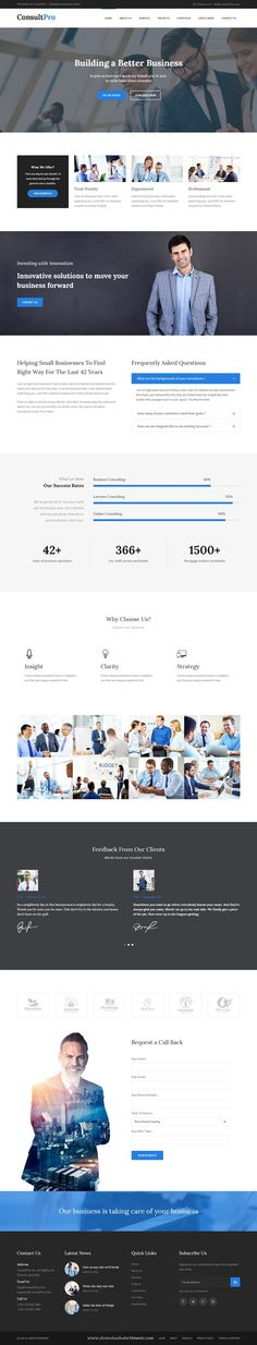 Consultpro is a clean and Modern Bootstrap HTML Template. Consultpro is best…