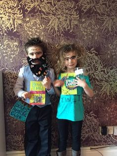 How amazing do Alfie and Ava look? World book day is an easy way to get children interested in reading, what better time to use our Roald Dahl resources.