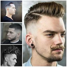 Men's Hairstyles   Haircuts, Hairstyles 2016 / 2017 and Hair colors for short…