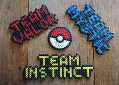 Pokemon GO Team Mystic Team Instinct or Team Valor by Harribeads