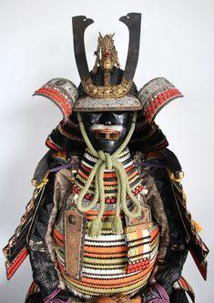 Japanese Samurai Yoroi Armor Set Dragon Maedate Kabuto | eBay