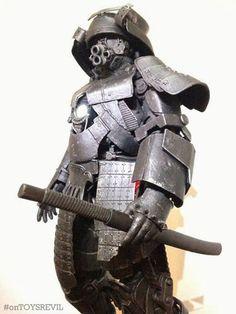 "TOYSREVIL: ""Iron Samurai"" Kitbash/Custom by Ken Lee"