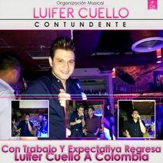 Luifer Cuello , Con Trabajo Y Expectativa Regresa A Colombia