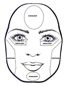 How and where to contour a triangle face shape. Long Face Shapes, Long Faces, Head Shapes, Face Contouring, Contour Makeup, Contouring And Highlighting, Where To Contour, How To Contour Your Face, Pear Shaped Face