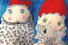 School Art Projects, Art School, Saint Nicolas, Mindfulness Activities, Theme Noel, Art Plastique, Teaching Art, Christmas Projects, Art Lessons