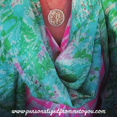 Lilly and a Monogram