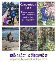 I'm having a bit of a giveaway over on Facebook to celebrate 1000 likers #ecocreatehour https://www.facebook.com/kirstie.adamson.artist…