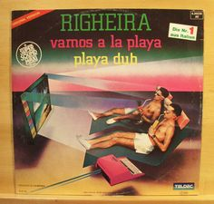 RIGHEIRA - Vamos a la Playa - Vinyl 12  Maxi - Italo Disco - Top RARE