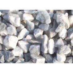 White rocks for garden