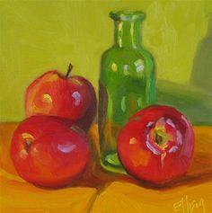"""Pink Ladies"" - Original Fine Art for Sale - © Lisa Ellison"