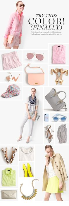 TRY THIS: COLOR - J.Crew - Spring 2014